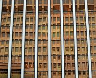 Reflection. A beautiful reflection on the  building in downtown Honolulu Stock Photography