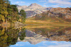 Reflection on Blea tarn Stock Photos