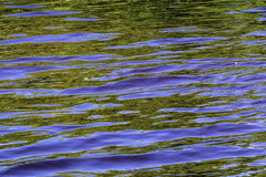 Reflection in Blue and Green royalty free stock photos