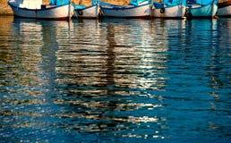 Reflection of boats Royalty Free Stock Photo