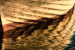Reflection of boats Stock Photo