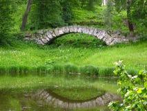 Reflection of bridge Royalty Free Stock Photo