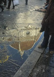Reflection of Brunelleschi dome Royalty Free Stock Photo