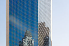 Reflection of the building Royalty Free Stock Photo