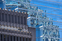 Vancouver, reflection, building Stock Image