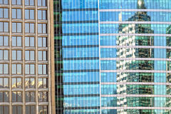 Vancouver, reflection, building, mountain Stock Photography