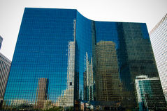 The Reflection of Chicago stock image