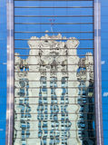 Reflection of Chicago Tribune Tower Royalty Free Stock Photos