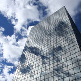 Reflection of clouds Royalty Free Stock Photo