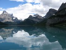 Reflection of Clouds in Lake Stock Images