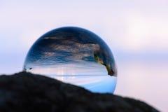 Reflection of coast Stock Images