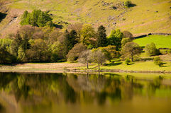 Reflection in Crummock Water Stock Photography