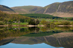 Reflection in Crummock Water Royalty Free Stock Images