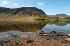 Reflection in Crummock Water Royalty Free Stock Image
