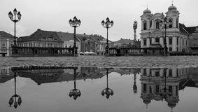 Reflection of a Cupola Stock Photography