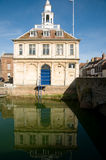 Reflection of the custom house Royalty Free Stock Images