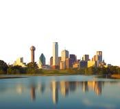 Reflection of Dallas City, Texas, USA Royalty Free Stock Photo