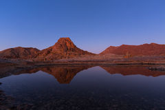 Reflection of Die Toon. Richtersveld, South Africa Royalty Free Stock Photo