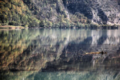 Reflection of the Drina River Stock Images