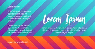 Reflection effect soft transition. Website background template, bright abstract modern design. Vector geometric shape composition. Colorful trendy gradients in royalty free illustration