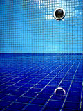 Reflection in Emptied Pool. A reflection seen in an emptied pool Stock Photo