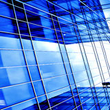Reflection in glass wall Royalty Free Stock Photography