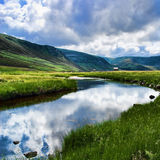 Reflection in Glen Esk Stock Photos