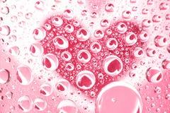 Reflection heart Royalty Free Stock Image