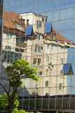 Reflection of a house Stock Image