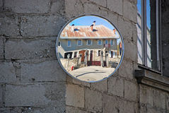 Reflection of a house Royalty Free Stock Photo