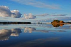 Reflection I n Lake Stock Image