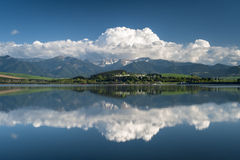 Free Reflection In A Lake Royalty Free Stock Image - 24806116