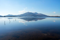 Reflection on the Killarney lake Royalty Free Stock Photo
