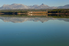 Reflection on the lake Royalty Free Stock Photography