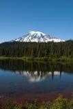 Reflection Lake. Mt. Rainier National Park, Washington royalty free stock photo