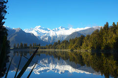 Reflection Lake NZ Royalty Free Stock Images