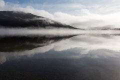 Reflection on the Lake in the morning Royalty Free Stock Images