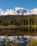Reflection Lake at Mount Rainier Royalty Free Stock Photo