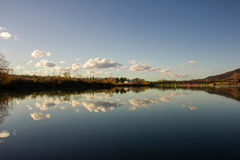 Reflection in the lake. Pravec , Bulgaria Royalty Free Stock Images