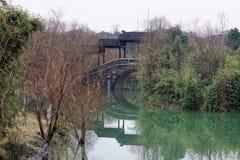 Reflection of the lake-Qingyun spectrum