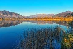 Reflection on lake Stock Photos