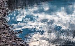 Reflection on lake Royalty Free Stock Photos