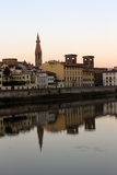 Reflection landscape. Reflection of a Florentine landscape Royalty Free Stock Image