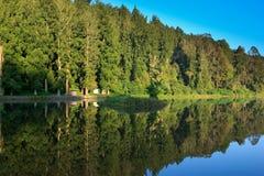 Reflection landscape Royalty Free Stock Images