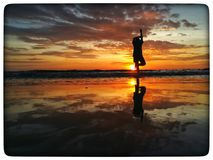 reflection . stock photo