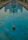 Reflection of main entrance of Taj Mahal Royalty Free Stock Photography