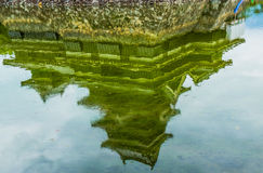 Reflection of Matsumoto Castle Royalty Free Stock Image
