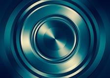 Reflection metal circle. Stock Image
