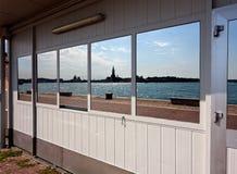 Reflection mirror San Giorgio Maggiore Venice, Italy royalty free stock photography