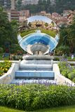 Reflection of Monte Carlo casino Royalty Free Stock Photography